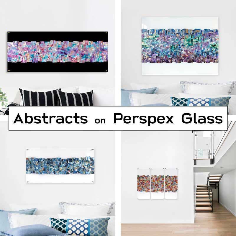Buy abstract art (plexiglass)