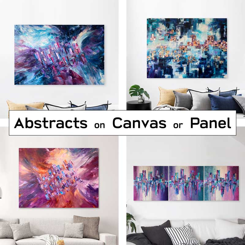 Buy abstract art (canvas)