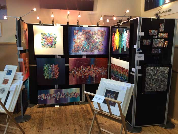 Jayne Leighton Herd Art at Venue 19 on Henley Arts Trail 2016