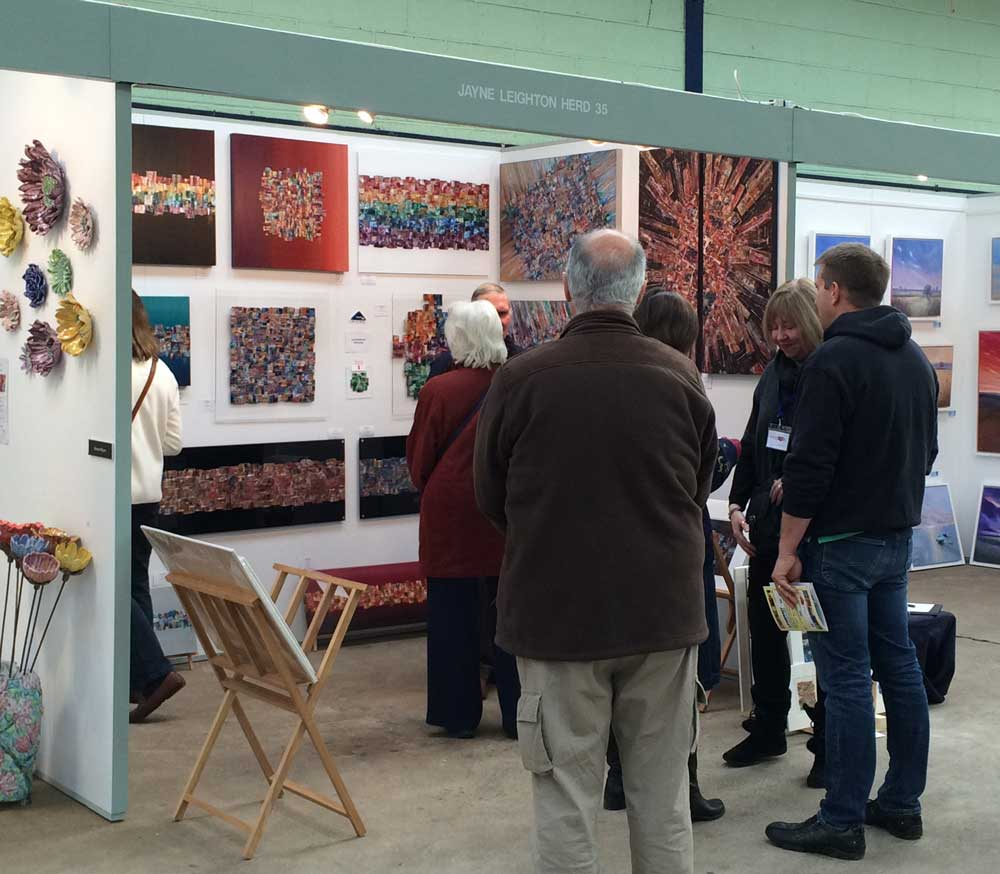 Jayne Leighton Herd at Somerset Art Fair 2015