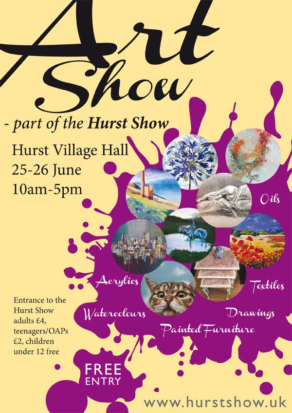Art Show at Hurst Show & Country Fayre