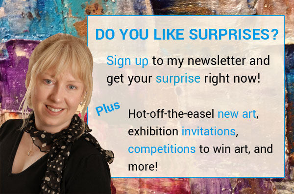Sign-up to my newsletter and get a surprise