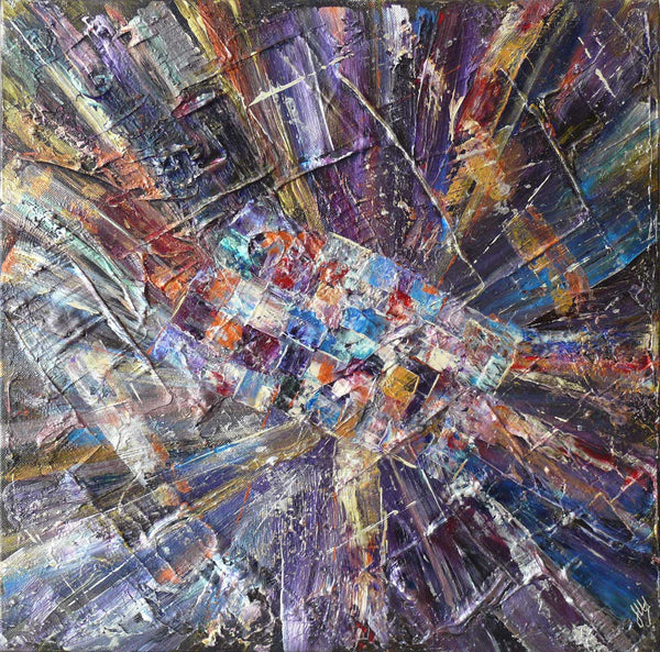 'Inner Space II' original artwork on box canvas