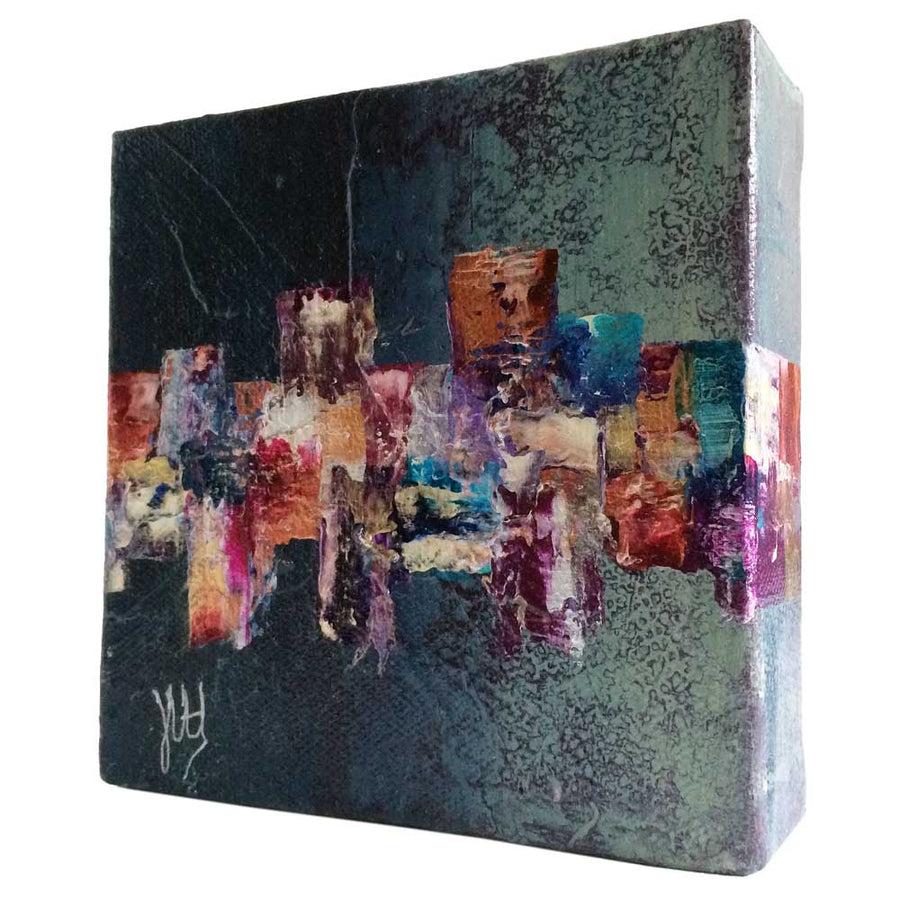 Stunning abstract mini painting - MPSP01