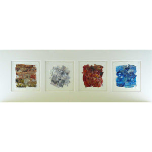 'The Four Elements' mounted original on paper