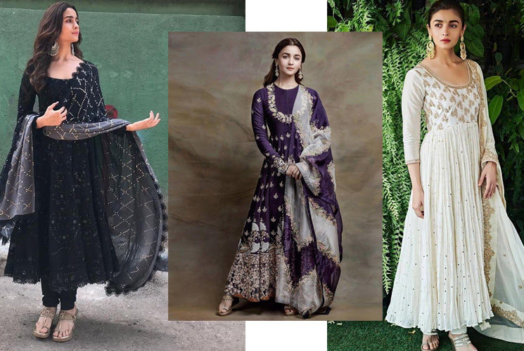 "Girls, take style notes from Alia's recent ""Kalank"" movie promotions to ace Ethnic Fashion at an upcoming Summer wedding!!"