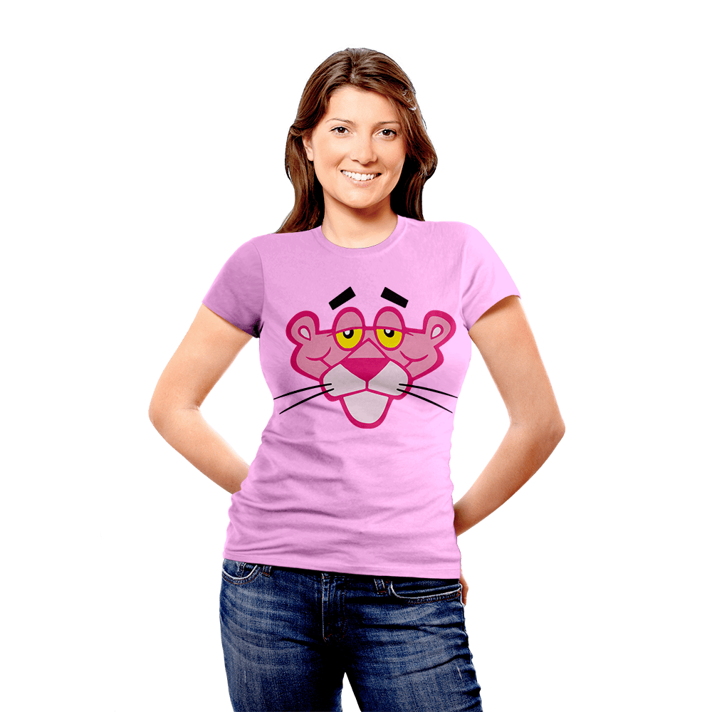 BeCivil Pink Panther Tshirt collection - Panther face