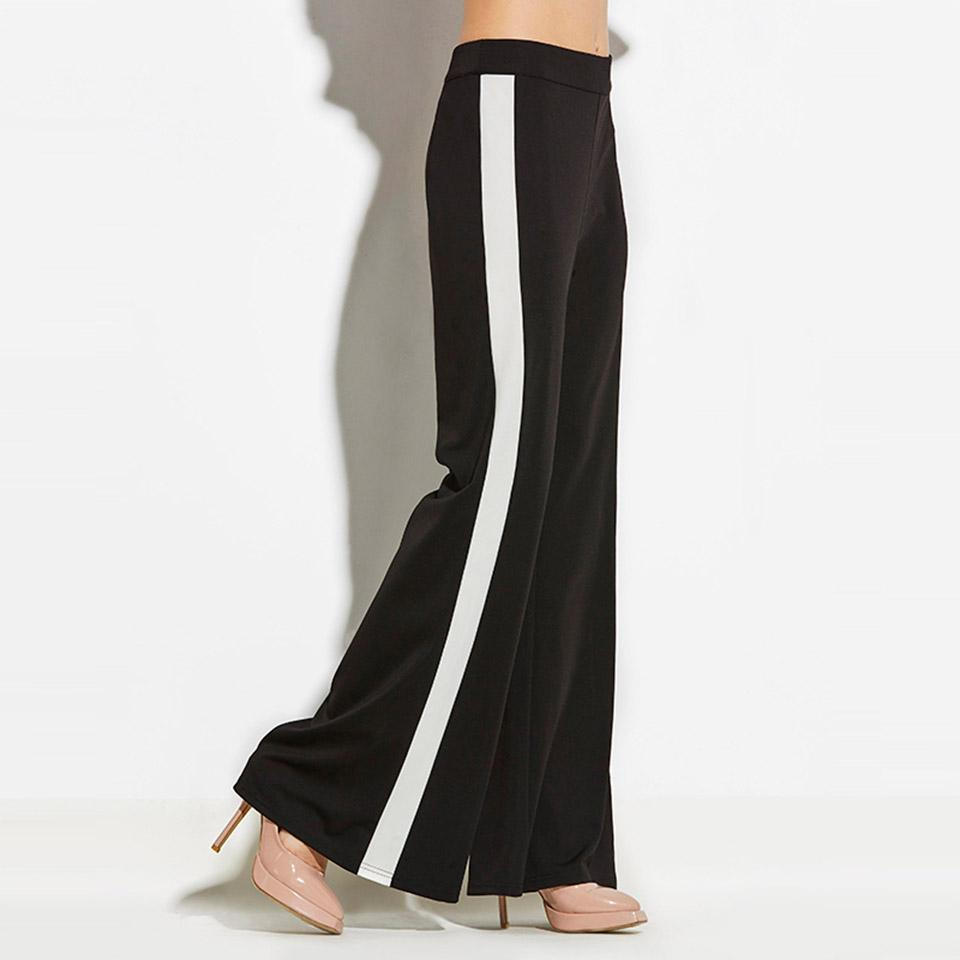 Clemonte Black Tiffany Color block Pants