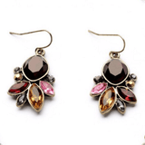 Clemonte Crystal chandelier drop earring for women