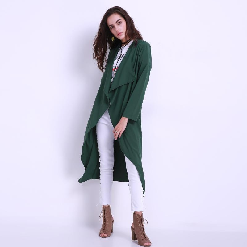 Clemonte Duster trench coat for women