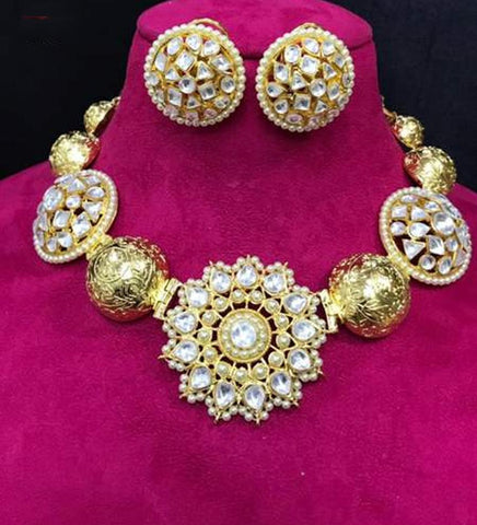 Clemonte India Jewels - Suvarna Floral Gold Jewellery set