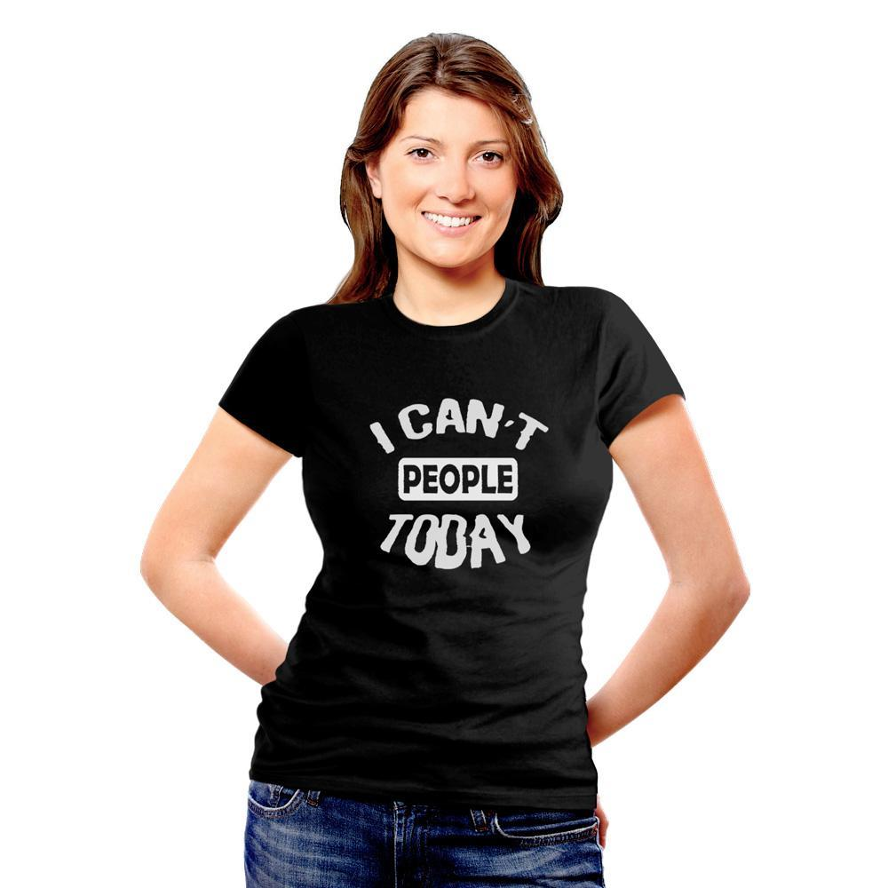BeCivil I can't People Today TShirt
