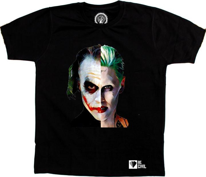 Suicide Squad Dark Knight Joker Artwork TShirt