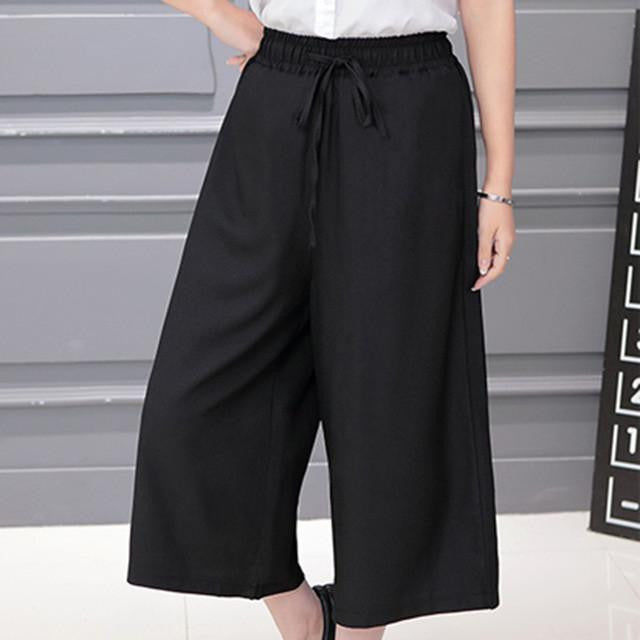Clemonte Summer culottes for women - black