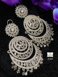 Clemonte Myrah American diamond chandelier earrings
