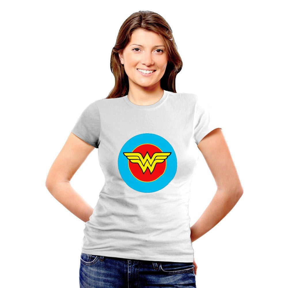 BeCivil Wonder woman logo TShirt
