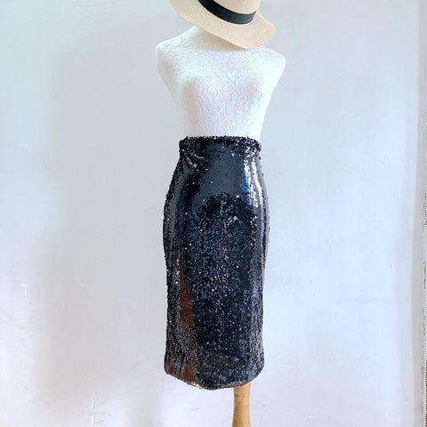 7f55a64a3 Clemonte sequin pencil skirt - Silver. Rs 2,200.00. Add to Wishlist