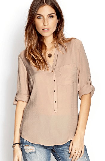 Clemonte taupe shirt