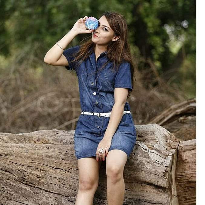 Clemonte Denim Shirt Dress with Belt