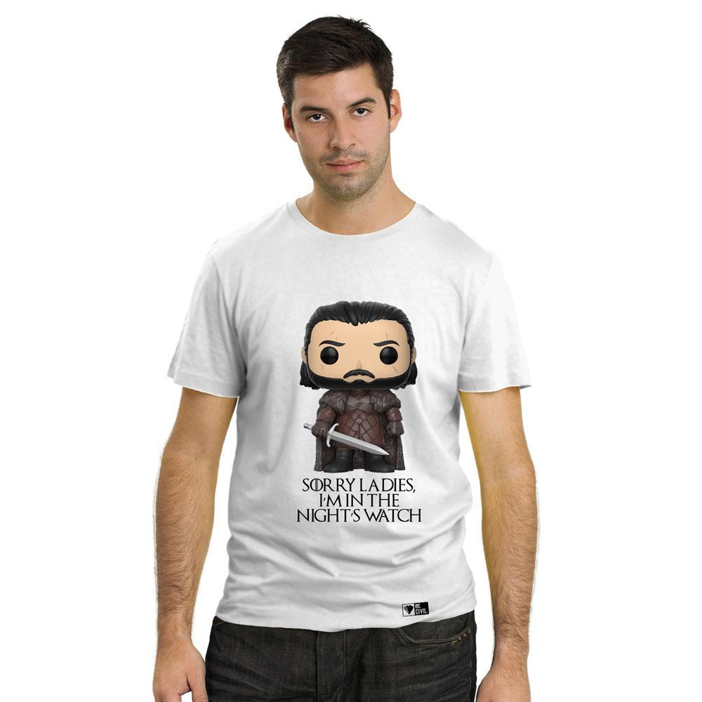 BeCivil Jon snow Game of Thrones Men's T-Shirt