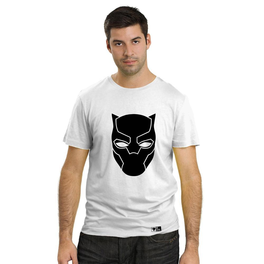 BeCivil Black Panther Logo Men's T-Shirt