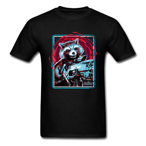 Rocket the racoon -  Avengers Infinity War T-shirt