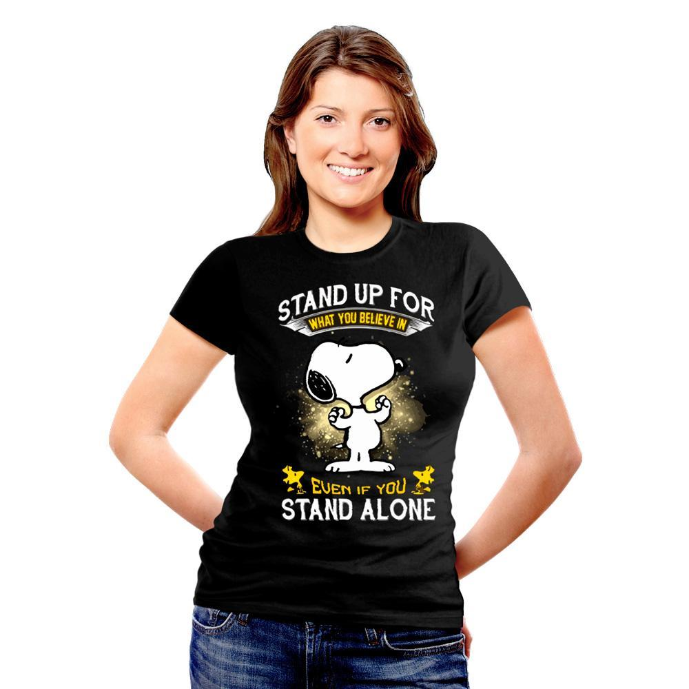 BeCivil Christmas Store : Snoopy quote TShirt