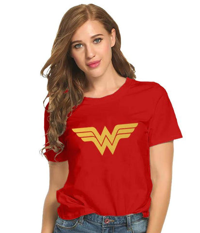 BeCivil  Wonder Woman Logo T-Shirt