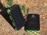 300000mAh Heavy Duty Waterproof 2-USB Solar Charger