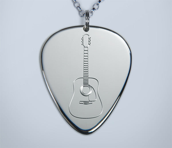 Engraved Acoustic Pendant
