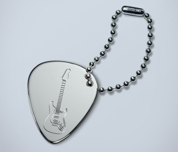 Stratocaster Ball Chain Key Ring