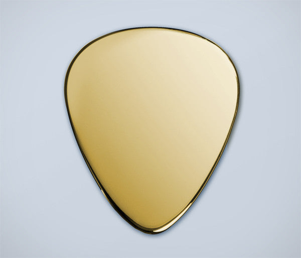 Gold plectrum