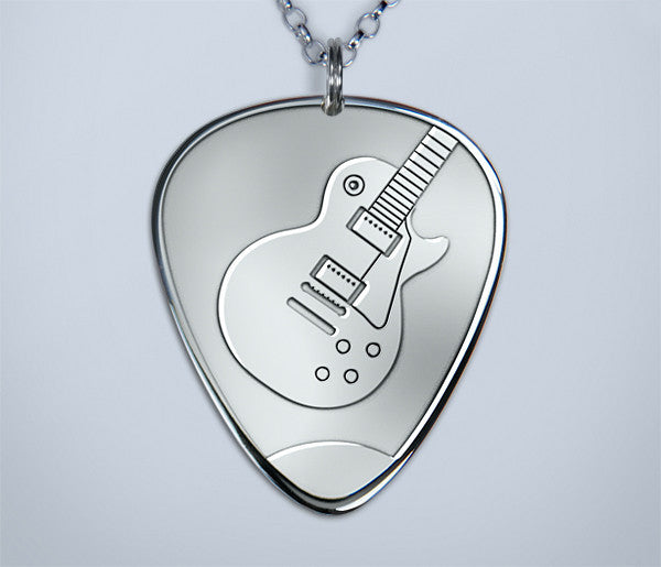 Les Paul Pick Pendant (New)