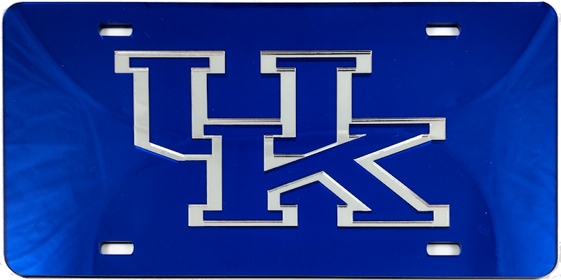 university of kentucky acrylic license plates – bluegrass lasers