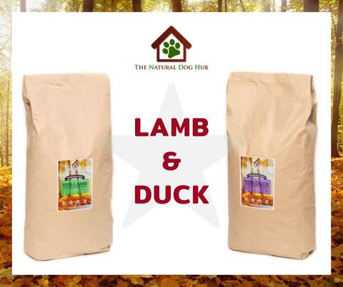 COMBO DEAL-SPETEMBER-LAMB-DUCK-2 X 15KG-£45 EACH