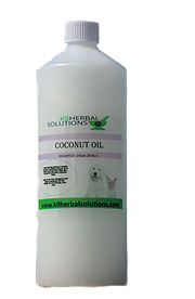 coconut oil shampoo-for dogs-nourish-deep clean-dry flaky skin-lustrous shine-home grooming