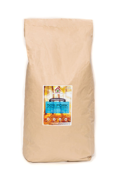 Grain Free-ADULT Pork, Sweet Potato & Apple-Complete Food 15kg-dog food-bulk buy-deal-natural