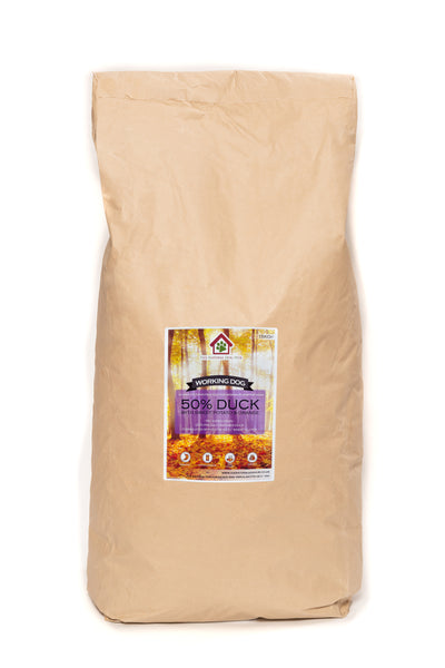 Grain Free ADULT DUCK, Sweet Potato & Orange Complete Dog Food
