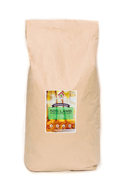 Grain Free- ADULT Lamb, Sweet Potato & Mint-Complete Food 15kg-natural-bulk buy-deal-dog food