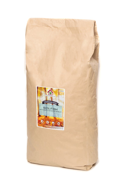 Grain Free -ADULT Fish, Sweet Potato & Parsley-Complete Food 15kg-natural-bulk-buy-deals-dog food-fish for dogs-fish 4 dogs