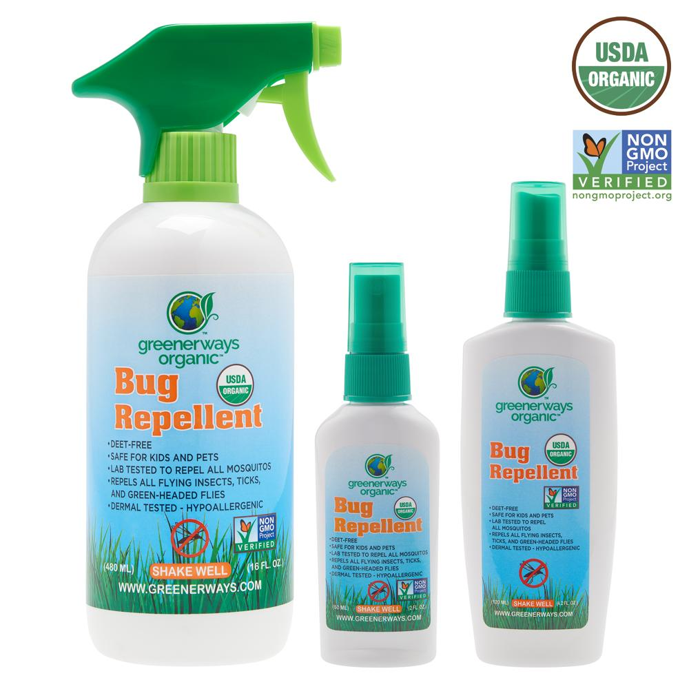 Greener Days Organic Bug Spray reviewed like we're in the Show Me State!