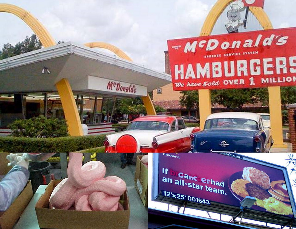 McDonald's drops use of gooey ammonia-based 'pink slime' in hamburger meat