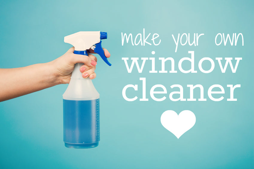 Make your own window cleaner!