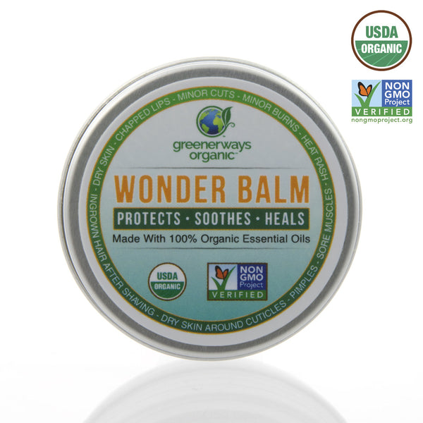 Greenerways Organic - Mama Bella's Wonder Balm - Protects, Soothes, Heals
