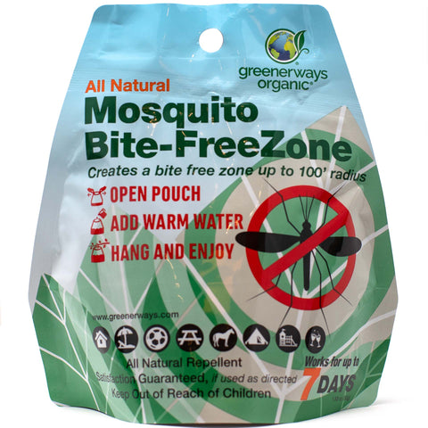 Greenerways Organic - All Natural Mosquito Bite-FreeZone