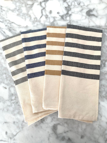 Organic Cotton Hand-loomed Kitchen Towels