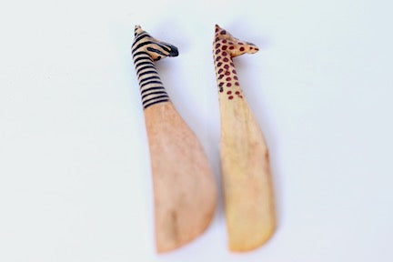 Wood Animal Knives