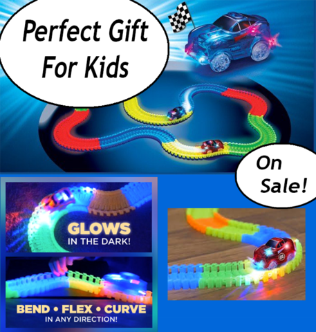 Glow Track Race Car Set - Free Shipping