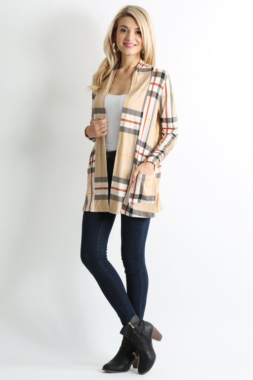 COVERUP IN STYE PRINTED CARDIGAN