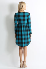 Load image into Gallery viewer, Teal Plaid